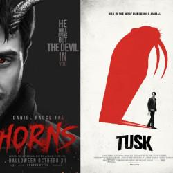 Horns / Рога (2014) и Tusk / Бивень (2014)