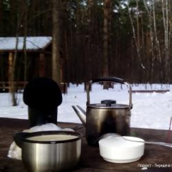 Суп в лесу, болты и колеса.