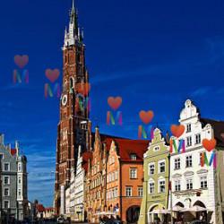 Ландсхут - город с 800-летней историей. Города, достопримечательности и жизнь в Германии