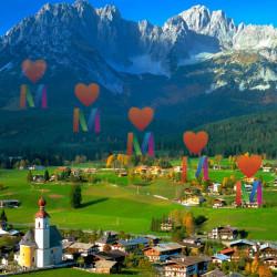 Немецкая дача в Австрии в Альпах