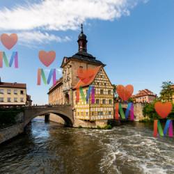 Бамберг - средневековый город на семи холмах.