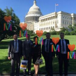 Мариупольские чиновники и первые руководители Министерств ездили в Вашингтон
