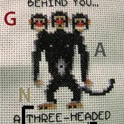 Three Headed Monkey (rock) [FULL instruments]
