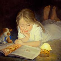 Сказки на ночь с «Книжкой под подушкой»