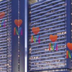 В новых небоскребах Bloom Heights в Дубае раскуплено 75% квартир