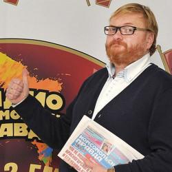 Виталий Милонов прочитал новогодний стишок в эфире Радио «Комсомольская правда»