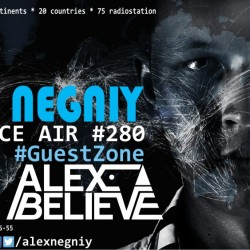 Alex NEGNIY - Trance Air #280 [ #GuestZone: Alex BELIEVE ]