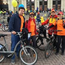 В Москве пятый по счету велопарад собрал 40 тысяч участников