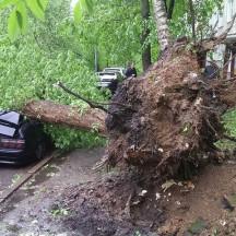 Над Москвой пронесся сильнейший ураган за всю историю метеонаблюдений