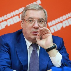 Интервью с губернатором Красноярского края Виктором Толоконским
