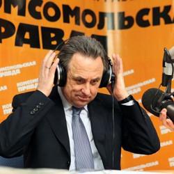 Виталий Мутко: Создают иллюзию, что не надо ехать в Россию, что здесь фанаты с кувалдами