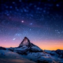 073 : The Winter Night Sky