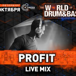 Bassland Show @ DFM (08.11.2017) - Profit Live Mix @ World Of Drum&Bass 28.10.2017 @ A2 (Спб)