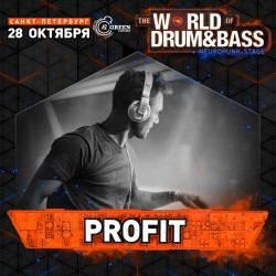 Profit Live Mix @ World Of Drum&Bass 28.10.2017 @ A2 (Спб)
