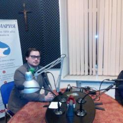 Гости студии - режиссёры Давид и Яна Чебан
