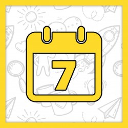 7 дней английского предложения