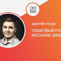 Дмитрий Грицев: пошаговый план запуска рассылки: Email vs VK.