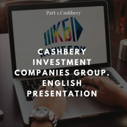 Cashbery Investment Companies Group. English presentation