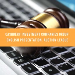 Cashbery Investment Companies Group. English presentation. Auction League