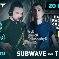 Bassland Show @ DFM (20.03.2019) - Subwave b2b Traffic. Ћюбимые Drum&Bass треки!