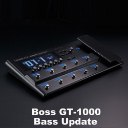 BassLife Podcast №96 - GR Pure Drive Pedal, The Cranberries, Boss GT1000 Update V3, бас - не соло инструмент?