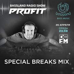 Bassland Show @ DFM (29.04.2020) - Любимые Breakbeat, Breaks треки от начала 90х до 20х
