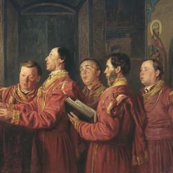 У кого из русских царей впервые появился придворный хор?