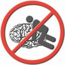 мужчина и женщина говорят о мозге