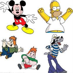 Почему у персонажей мультфильмов 4 пальца на руке?