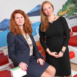 Ирина Чирва и Елена Коростылева в гостях у «Берись и делай»