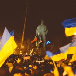 О революционных событиях в Донецке.