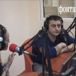 Гость радио Фонтанка— писатель прозаик Валерий Айрапетян. (022)