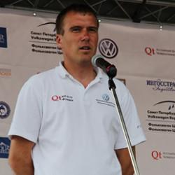 Первая в Санкт-Петербурге Volkswagen Regatta