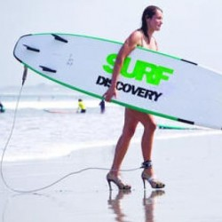 3.  Женские страхи.  Зачем русские девушки одевают каблуки на пляже..