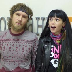 Московская рок-группа SLOT дала интервью ФонтанкеФМ (098)