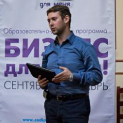 В гостях Михаил Талалай