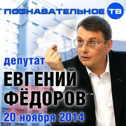Евгений Фёдоров 20 ноября 2014 (Познавательное ТВ)