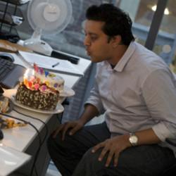 С днём рождения, коллега!