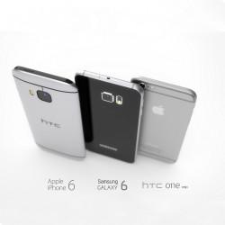 SGS6 vs HTC One M9