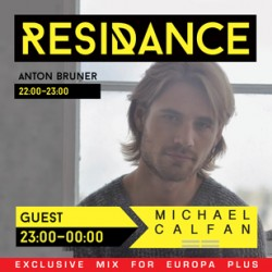 Europa Plus / ResiDANCE #25 first hour with Anton Bruner 21.03.2015