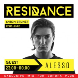 Europa Plus / ResiDANCE #24 first hour with Anton Bruner 14.03.2015