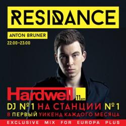 ResiDANCE #36 Hardwell Guest Mix