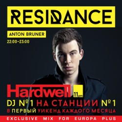 ResiDANCE #40 Hardwell Guest Mix