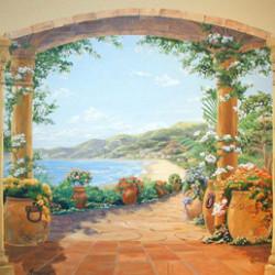 Художественная роспись стен: современное исполнение