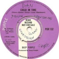GAN - Импровизации на гитаре на тему Child In Time Deep Purple (перегруженный звук и чистый) (классический хард-рок)