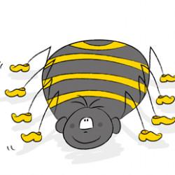 Стихи о паучке и муравье