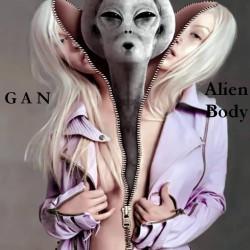 GAN - Alien Body (Инструментал: trip-hop/acid-hop)