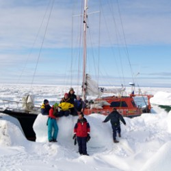 Как покорить Арктику и поставить мировой рекорд