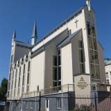 Богослужение в храме на Подоле